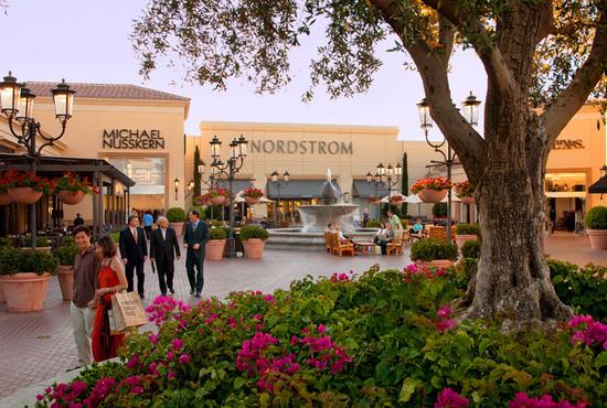 Newport Beach Center Mall