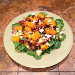 Roasted Butternut Squash Harvest Salad