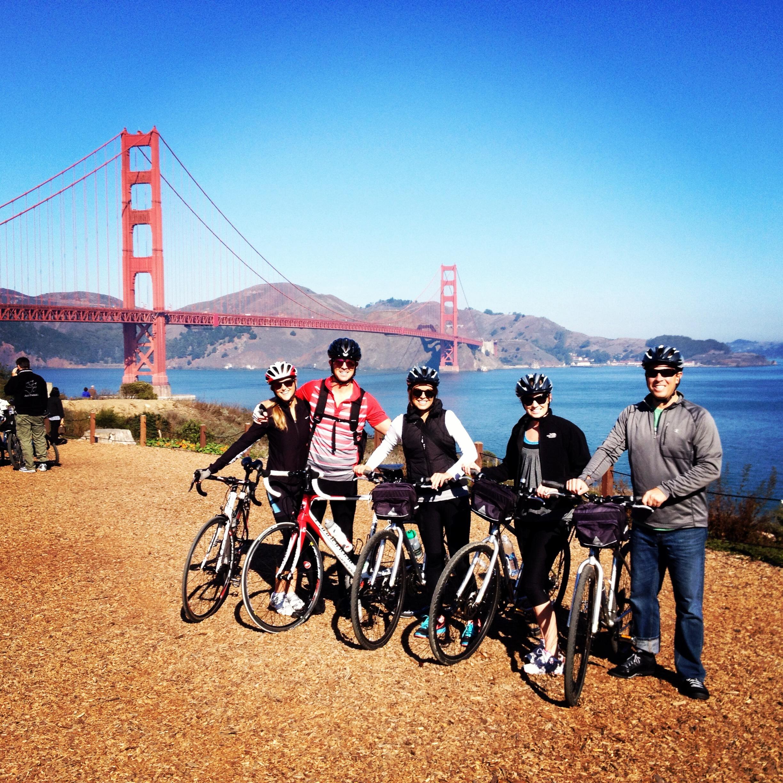 A 25 Mile Bike Tour Over The Golden Gate Bridge T W O