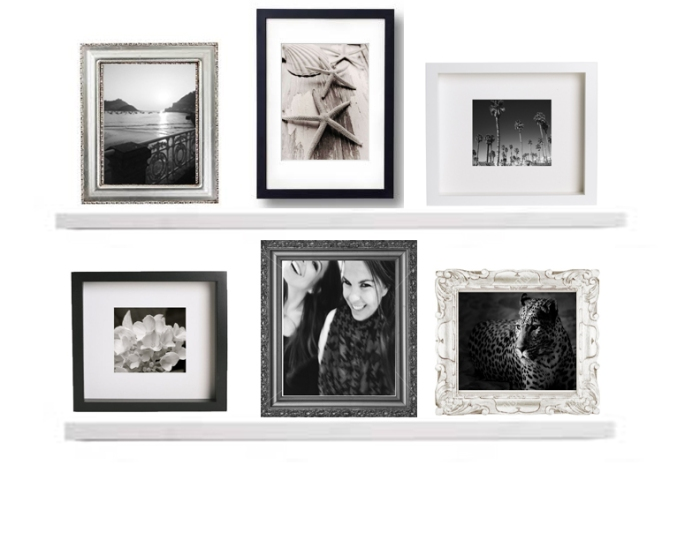 Photo Frame Collage Wall