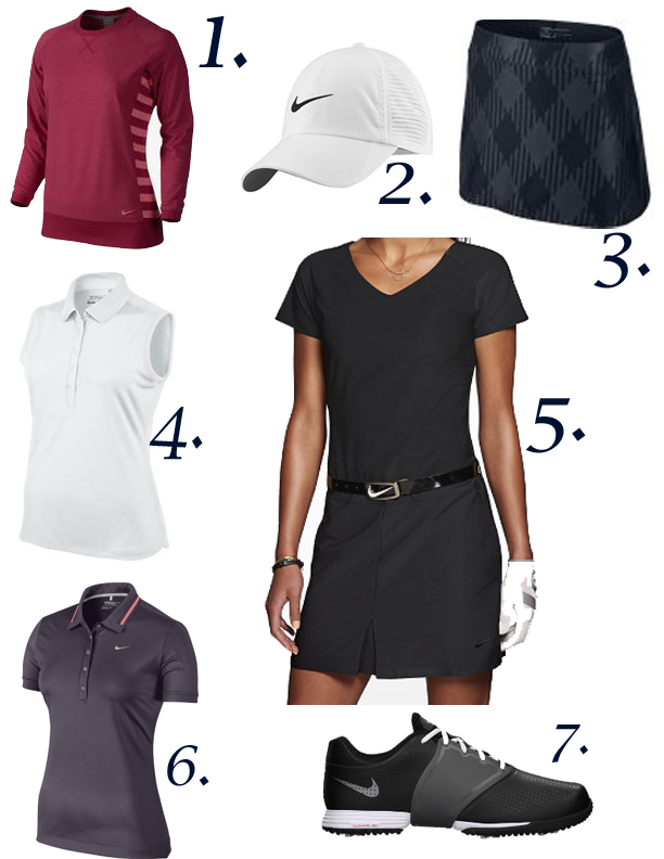 Nike Golf Page