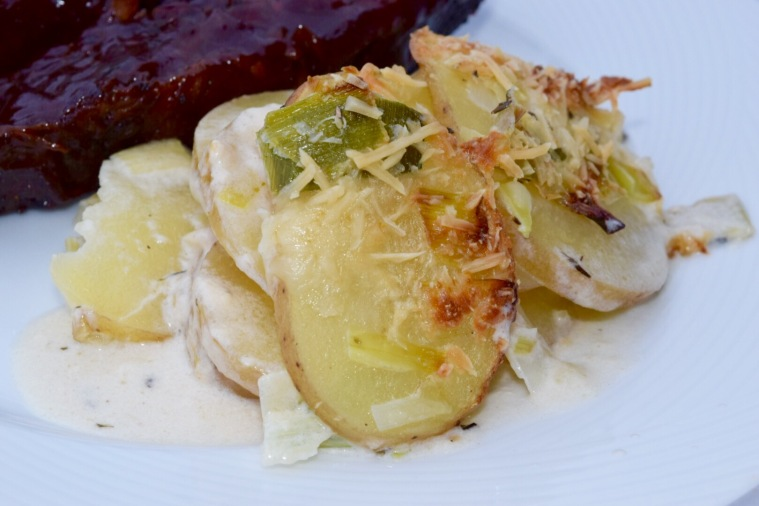 Scalloped Potatoes with Leeks – T.W.O.